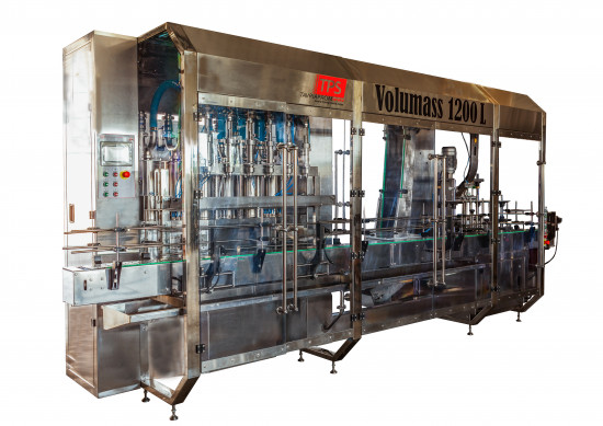 Volumass 2-in-1 volumetric weighing monoblock filling and capping