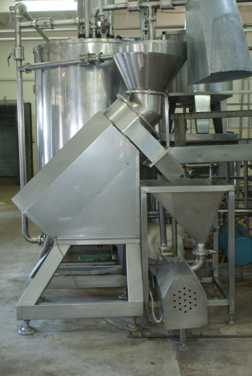 Mustard production line