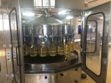 "Tri-block ""3 in 1"" for rinsing, filling and capping, dosing according to flow meters"