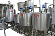 Condensed milk production line UNIVAC series